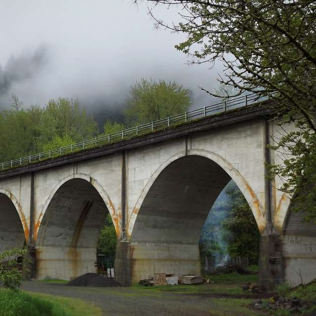 Columbia Gorge Highway Bridge