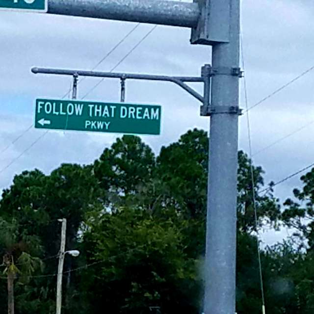 Follow that dream parkway