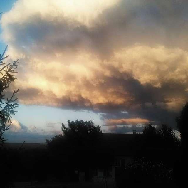 Magnifique  nuage