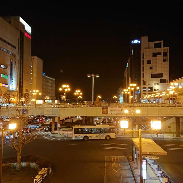 宇都宮駅の夜景