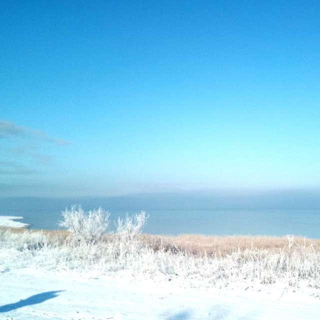 Зимнее побережье